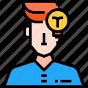 avatar, creative, idea, profile, user icon