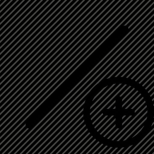 graphic, line, primitive, tools icon