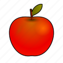 apple, cooking, diet, food, fruit, manzana, pomme icon