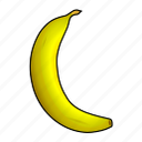banana, bananas, banane, cooking, food, fruit icon