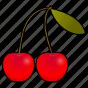 cherry, cherries, cooking, food, fruit, cereza, cerises