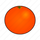 arancia, cooking, food, fruit, juice, naranja, orange icon