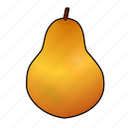 birne, cooking, food, fruit, pear, pera, poire icon