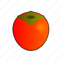 caqui, cooking, food, fruit, kaki, persimmon, persimmons icon