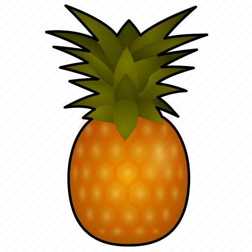 Pineapple, tropical, cooking, food, fruit, ananas, piña icon - Download on Iconfinder