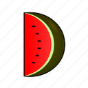 anguria, cooking, food, fruit, pastèque, sandía, watermelon icon