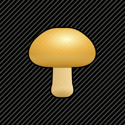 cooking, food, mushroom, vegetable icon