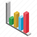 bar chart, bar graph, charting application, column graph, graphical representation icon