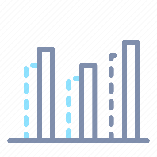 analysis, analytics, chart, column, graph, report, statistics icon