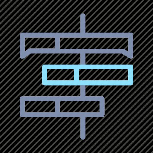 analysis, analytics, chart, gantt, graph, report, statistics icon