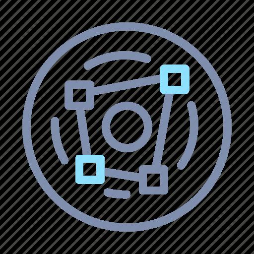analysis, analytics, chart, graph, radar, report, statistics icon