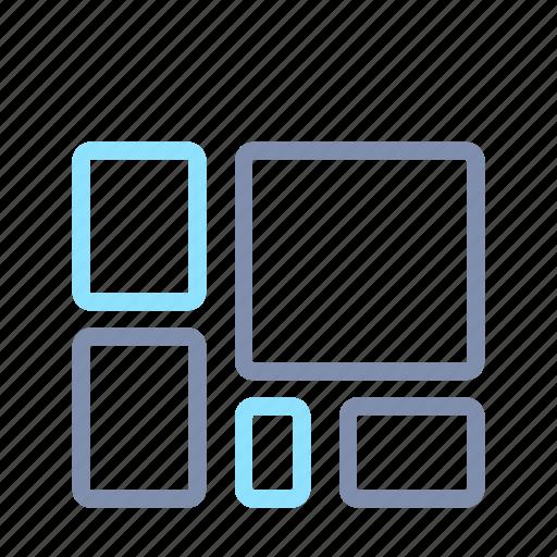 analytics, chart, graph, map, report, statistics, tree icon