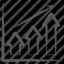 business profit, business report, data analytics, growth chart, infographic, statistics