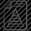 business analytics, pyramid chart, pyramid report, statistic analytics