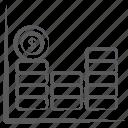 bar chart, bar graph, business infographic, data analytics, financial chart, statistics