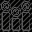 bar chart, bar graph, business infographic, data analytics, financial infographics, statistics