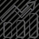 business profit, business report, data analytics, growth graph, infographic, statistics