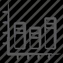 bar graph, infographic, segmented bar graph, segmented barchart, stacked column, statistics