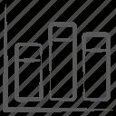 bar chart, bar graph, infographic, segmented bar graph, stacked column, statistics