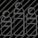 bar chart, bar graph, business statistics, infographic, segmented bar graph, stacked column
