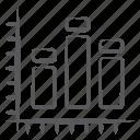 bar chart, bar graph, infographic, segmented bar graph, stacked column, vertical chart