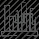 business data, infographic, segmented bar graph, segmented barchart, stacked column, vertical chart