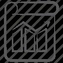 bar graph, business report, data analysis, graph report, statistics, trend report