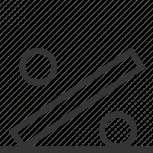 chart, gravity, math, percentage, sign icon