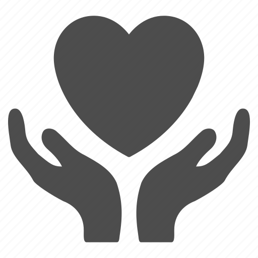 hands, health care, healthcare, heart, insurance, love, support icon