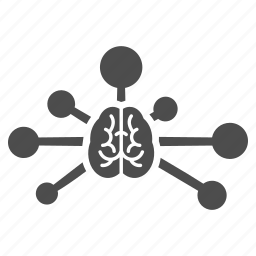 brain, chart, connect, connection, control, memory, science icon