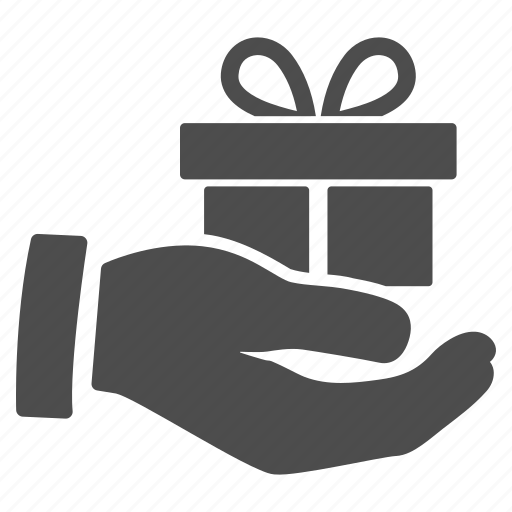 Present, product, prize, gift, award, donation, free offer icon