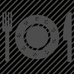 cafe, dinner, food, knife, menu, order, restaurant icon