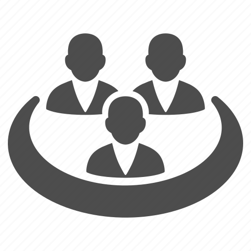affliates, company, friends, management, office workplace, people, user group icon