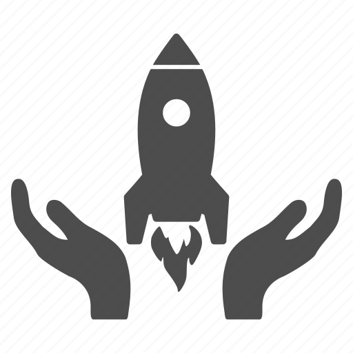 business start, project, rocket, science, space ship, startup, technology icon