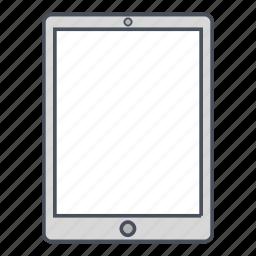 device, ipad, ipad pro, tablet icon