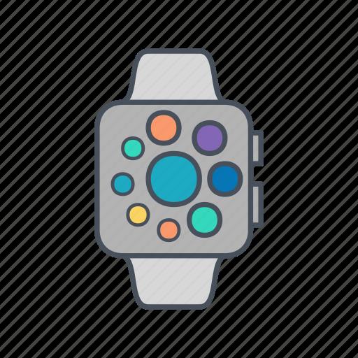 Apple, apple watch, clock, gadget icon - Download on Iconfinder
