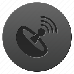 antenna, broadcast, communication, connection, radio, signal, wireless icon