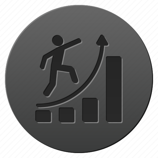 analytics, business, chart, diagram, graph, report, success icon