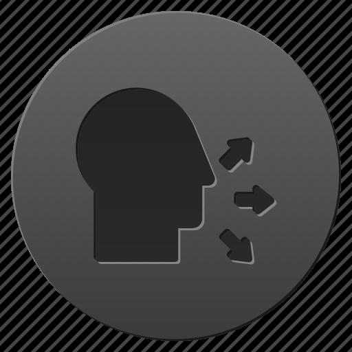 chat, communication, profile, speak, speaker, talk, voice icon