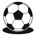 ball, game, play, sign, soccer, sphere, sport icon
