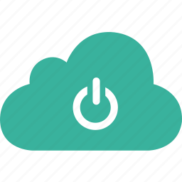 cloud, log, logout, off, out, signout, switch icon