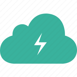 battery, charge, charger, cloud, electrical icon