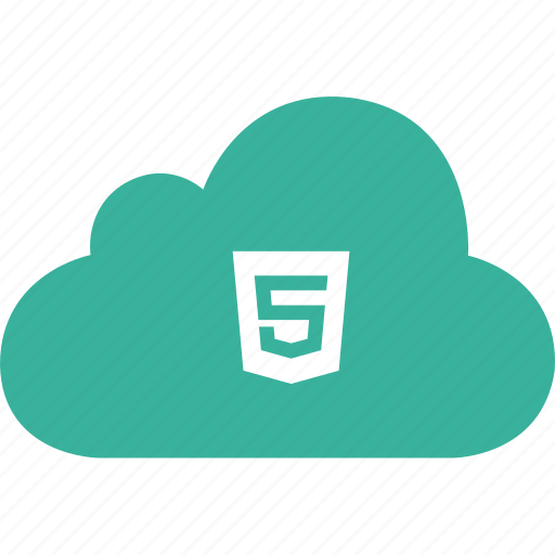 cloud, code, html, markup, web, website icon