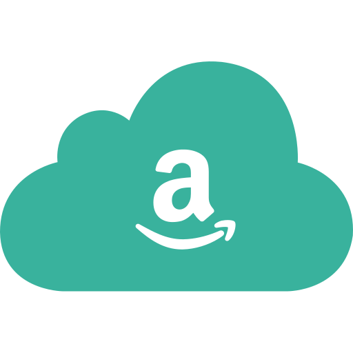 amazon, cloud, sell, shop, shopping icon