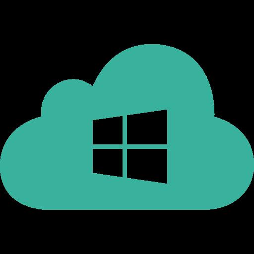 cloud, microsoft, os, system, windows icon