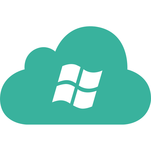 cloud, microsoft, os, system, windows icon