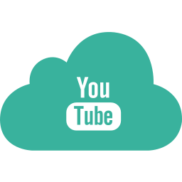 cloud, google, media, player, tube, video, you icon