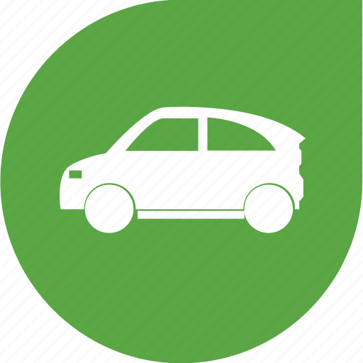 car, eco, electricity, green, shape icon