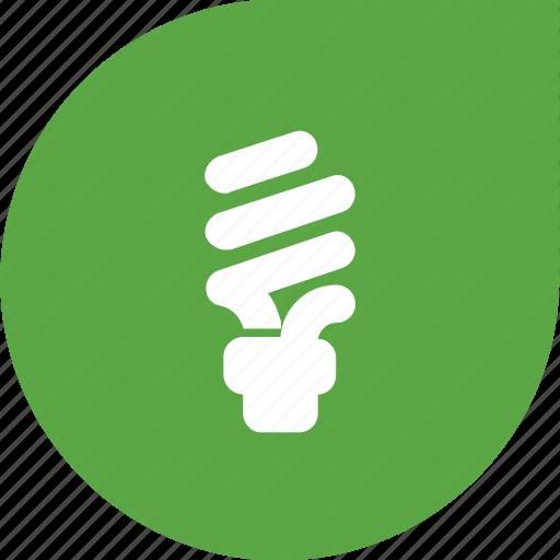 bulb, eco, green, saving electricity, shape icon