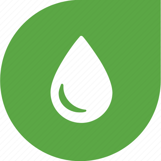 drop, eco, green, shape, water icon